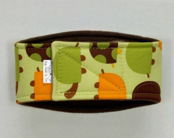 XXS-L Turtles Belly Band for male dogs with incontinence or marking issues. XXS Long dog diaper