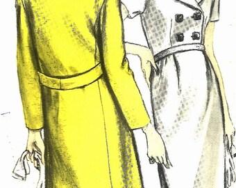 RARE Vogue Couturier Design 1442 - Pucci - UNCUT - Sew-in Label - Size 10  - Very Audrey
