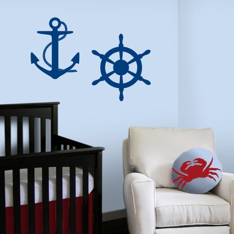 Sailboat Decals For Baby Room