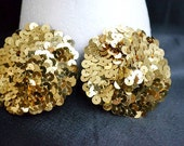 Gold Sequin Pasties and Eye Patch Set- Made to Order