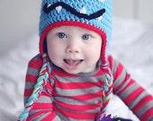 Crochet Monster Hat Halloween