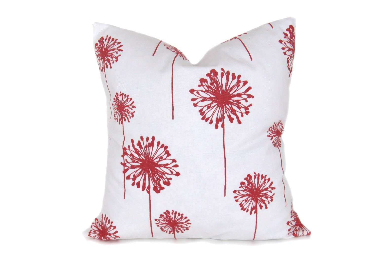 Euro Pillow Cover. ONE 28x28 Pillow Cover. Coral by EastAndNest