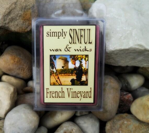 French Vineyard  scented long lasting wax melts tarts