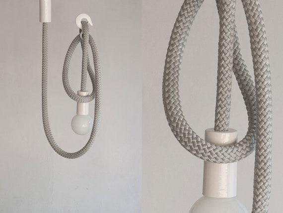 hook line lampe licht seil. Black Bedroom Furniture Sets. Home Design Ideas