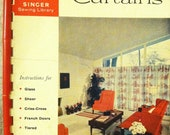 Singer Sewing Library How to Make Curtains Book No. 101 - 1960 Vintage DIY