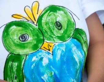 Hawaiian Baby Gift - Baby Hawaiian Shirt - Baby Gift Hawaii - Hawaiian Shirt - Hawaii Baby Shirt - Hawaiian Baby  - Owl T Shirt