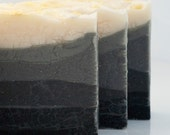 "Vegan Soap ""Winter Solstice""  with Lemon and Rosemary Essential Oils - Cold Process Artisan Soap - BlossomTwig"