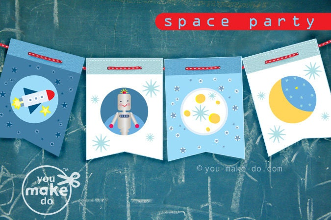 instant download space party rocket party spaceship party, Baby shower invitation