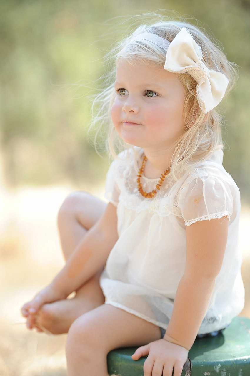 Wedding Bow Hair Accessory Baby Toddler Girl Headband