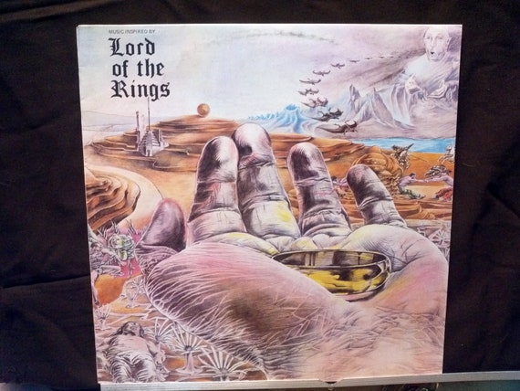 Vintage 1973 Lord of the Rings Vinyl Record Album LP  Australia