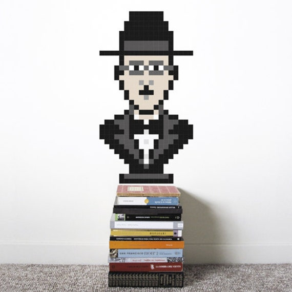 Fernando Wall Decal  - Puxxle - The Pixel Puzzle