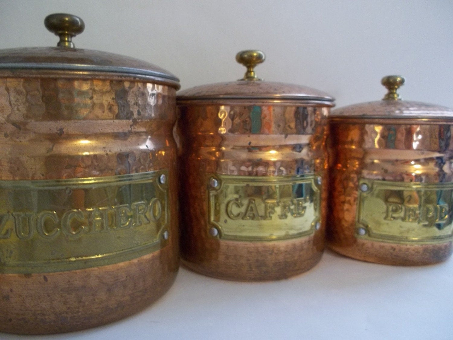 Top 28 Italian Canisters Kitchen Top 68 Ideas About Canisters On Pinterest Kitchen Gold