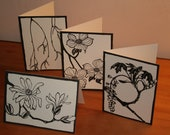 Botanical Notecards 8 pack