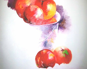 """Contemporary, Original Still Life Oil painting """"Unfinished"""""""