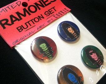 Ramones Button Set