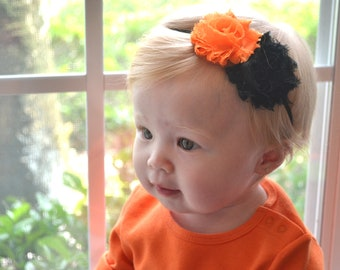 Halloween Baby Headband, Toddler Headband. Halloween Baby Photo Prop, Newborn Headband, infant, bow headband, baby accessories