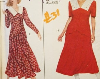 Simplicity 9185 Two Piece Dress  Kathie Lee Sz 18-20-22 Sewing Pattern