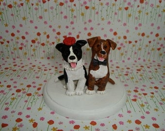 Custom Made Dog Cake Topper
