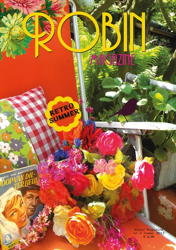 Robin Magazine no.3 Retro Summer