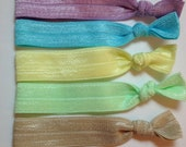 Early Spring Elastic Hair Tie Set