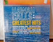 Vintage Hawaiian Record - Hawaii Calls: Greatest Hits - Vinyl LP - 1960