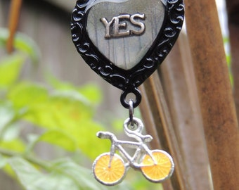 Yes Bike Love necklace