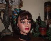 Headband Womans or Childrens 100% Silk Save the Rainforest