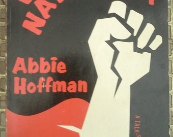 Woodstock Nation by Abbie Hoffman A Talk Rock Album First Printing 1969