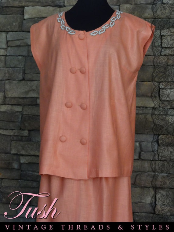"""1950s/60s two pc Formal Maternity Outfit  """"Phil Jacobs"""""""