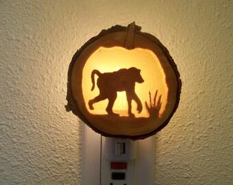 Baboon nightlight