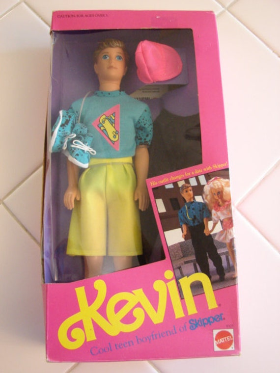 Vintage 1990 Kevin Doll Cool Teen Boyfriend Of Skipper Order