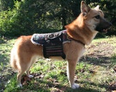 Hiking Pack - Custom Made- to- Order Hippie Backpack for Dogs