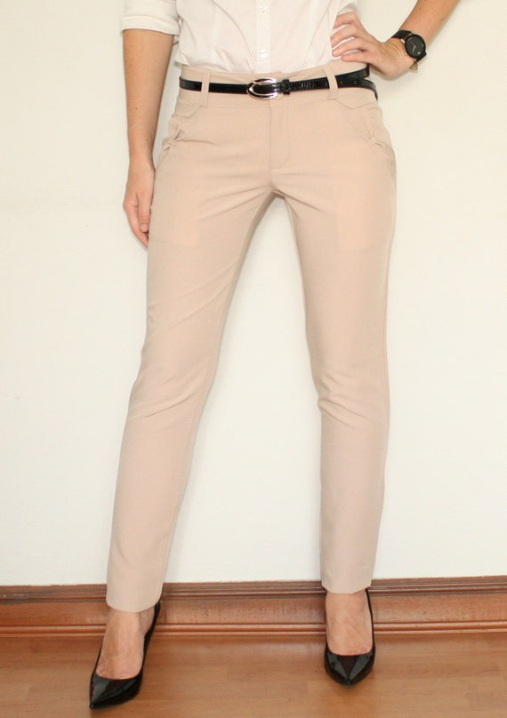 Unique Skinny Dress Pants Women Amanda  Chelsea Ponte Pants