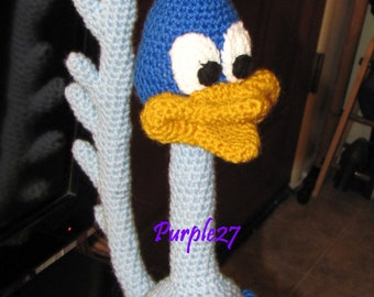 Crochet Roadrunner Pattern (PDF) - Instant Download