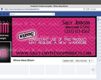 Plexus Slim Facebook Cover & Profile Image Customized For Plexus