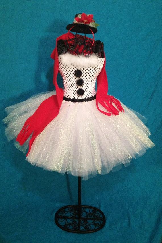 Frosty The Snowman Tutu Dress Girls Size 2t 5t