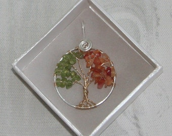 Life Transitions Tree Pendant