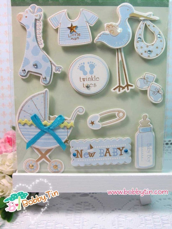 Dimensional Stickers New Baby Boy 3d Stickers
