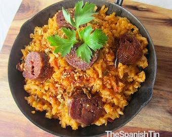 Piquant Rice Blend, Gourmet Food Gift, Rice Seasoning, Spanish Rice
