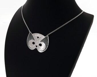 "Necklace ""TOTEM OWL"" silver"