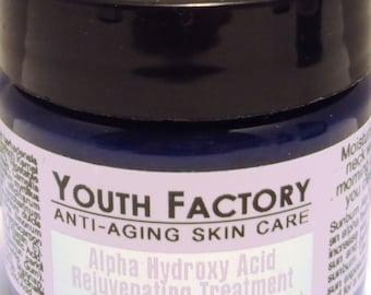 Alpha-Hydroxy Rejuvenating Treatment Anti-Aging Skin Care