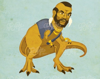Mr. T-Rex Poster