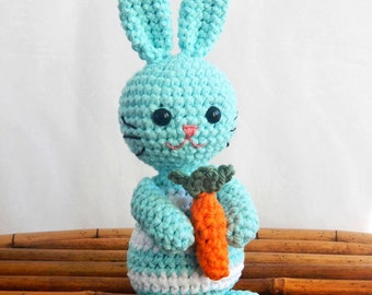 PDF Crochet Pattern for Amigurumi Easter Bunny Rabbit, Spring SALE