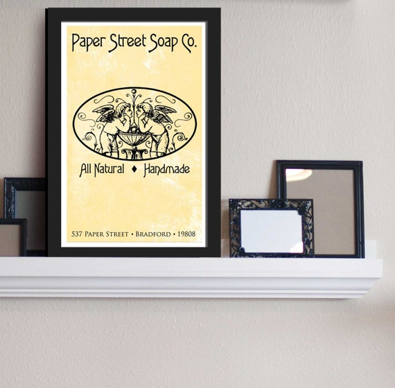 Paper Street Soap Co. - Fight Club Inspired - Movie Art Poster