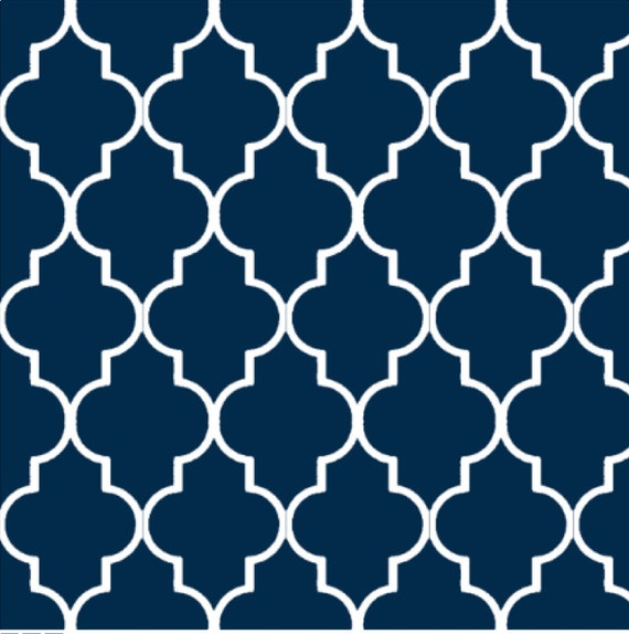 Items similar to Quatrefoil Wallpaper Swatch on Etsy