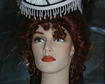 Victorian Riding Hat Sidesaddle SASS Hat - Spirit of San Fransisco - Womens Western Hat