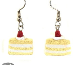 Berry Delight Cake Earrings
