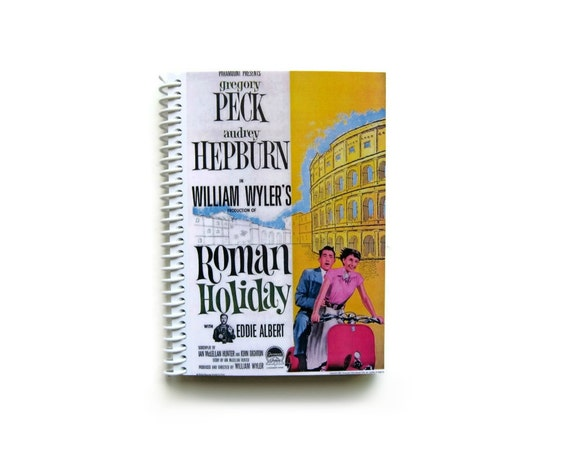 Roman Holiday Audrey Hepburn - Spiral Notebook
