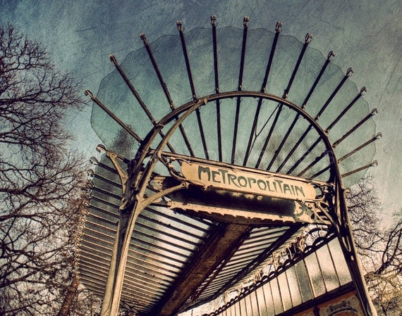paris france paris photo photography paris metro sign paris wall decor - Metro Decor
