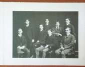 Yearbook Pages from MIT 1901 Senior Portfolio -- Class Day Committee and Class Day Officers